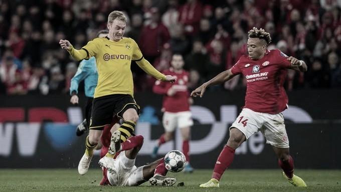 Mainz encara Dortmund em jogo decisivo na briga contra o rebaixamento