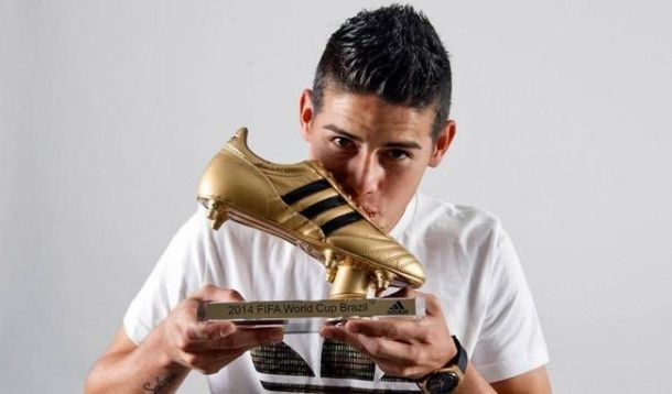 James Rodríguez, el pie de oro