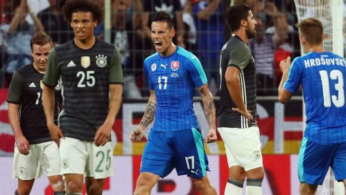 La Germania cade in amichevole: 1-3 per la Slovacchia