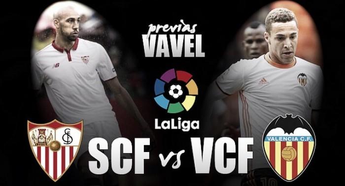 Previa Sevilla - Valencia: que el ritmo no pare