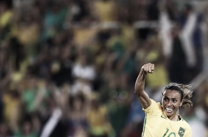 Marta voltou trazer alegria ao futebol brasileiro em tempos difíceis