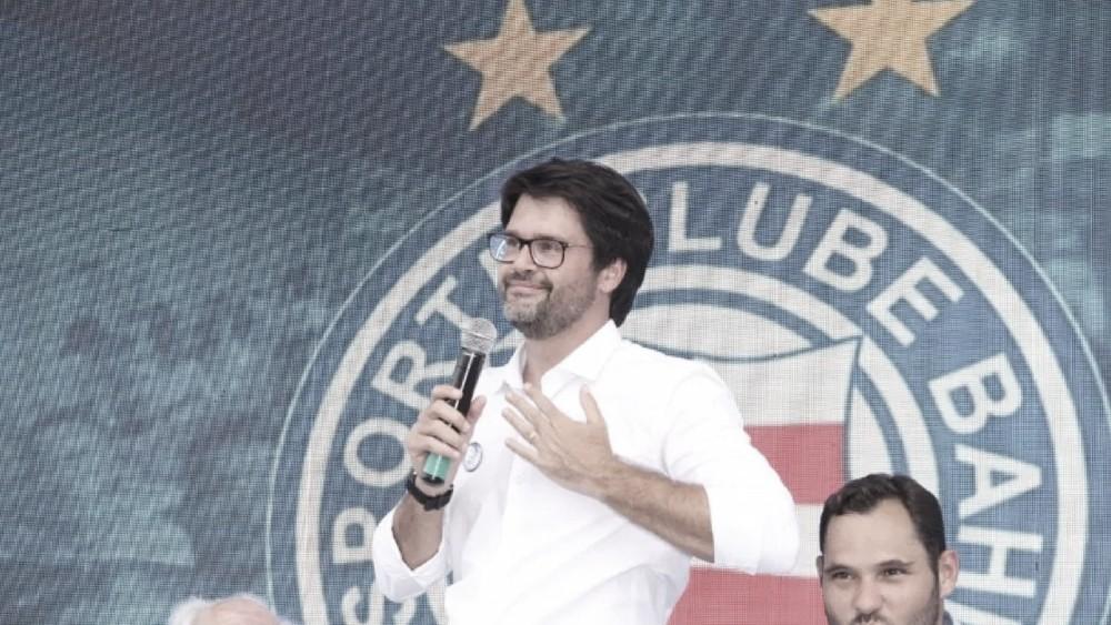 Presidente do Bahia aponta soluções para Baianão e Copa do Nordeste