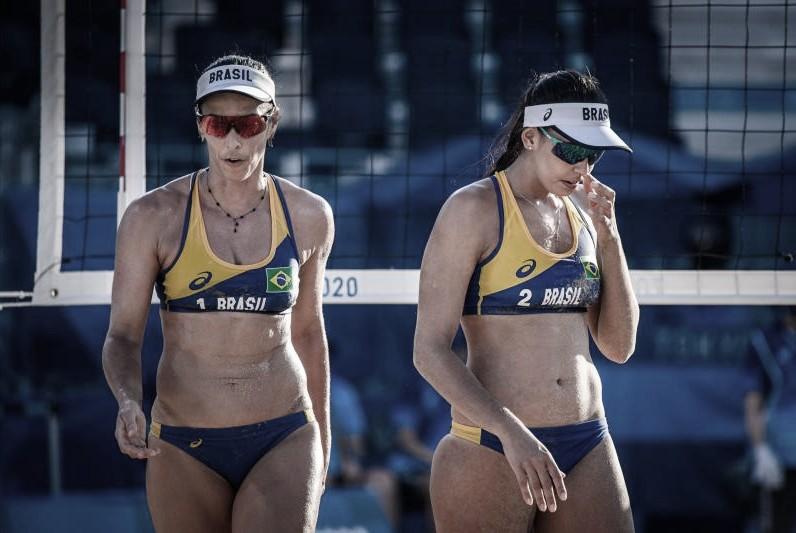 Ágatha e Duda perdem para dupla alemã nas oitavas e são eliminadas de Tóquio 2020
