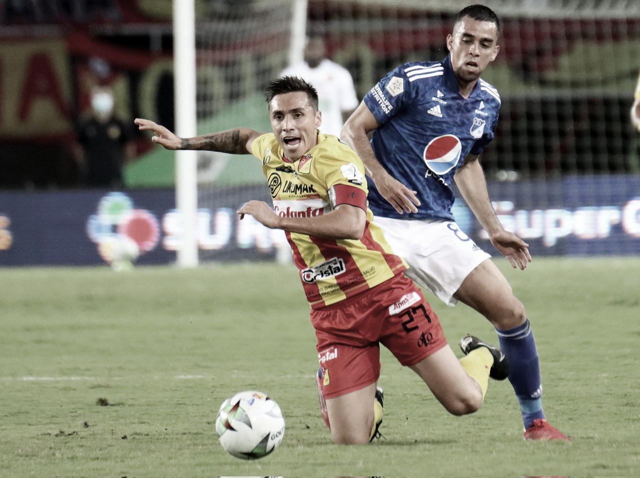 Millonarios perdió por la mínima diferencia frente a Pereira