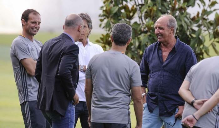 Juventus: continuano gli allenamenti pre-campionato, ieri la visita di Ventura per Barzagli