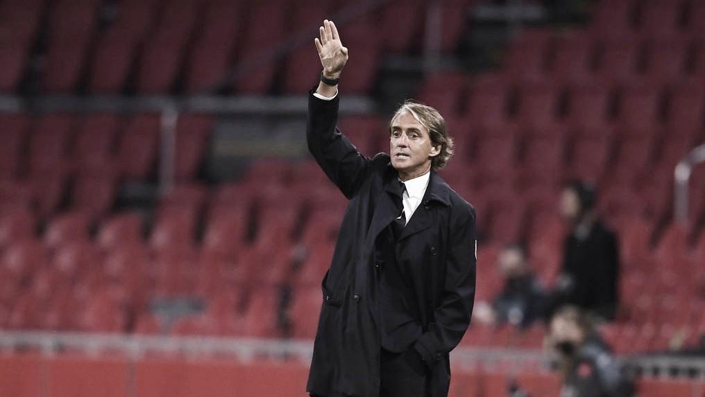 """Itália assume liderança na Nations, e Mancini exalta equipe: """"Merecíamos mais um gol"""""""