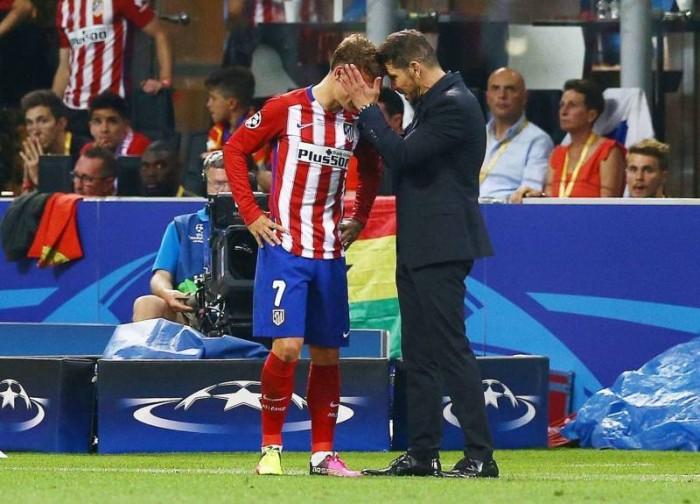 """Atletico Madrid sconfitto ai calci di rigore, Simeone: """"Fine del ciclo? Amo i miei giocatori"""""""
