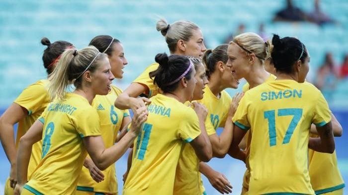 Rio 2016, calcio femminile: il ciclone Australia spazza via lo Zimbabwe per 6-1