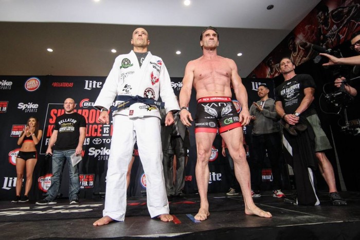 Living Legends: Royce Gracie Wins Controversially By TKO Over Ken Shamrock At Bellator 149