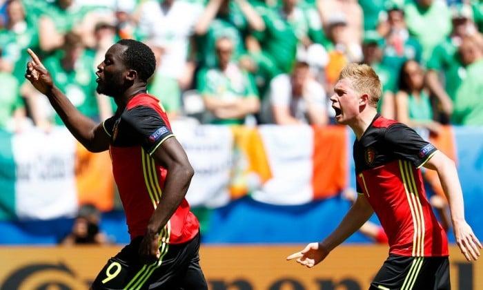 Euro 2016, l'Irlanda resiste un tempo poi crolla: vince il Belgio per 3-0
