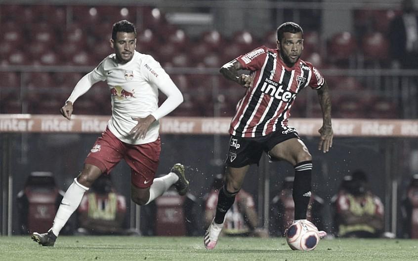 De lados opostos na tabela, São Paulo e RB Bragantino se enfrentam no Morumbi