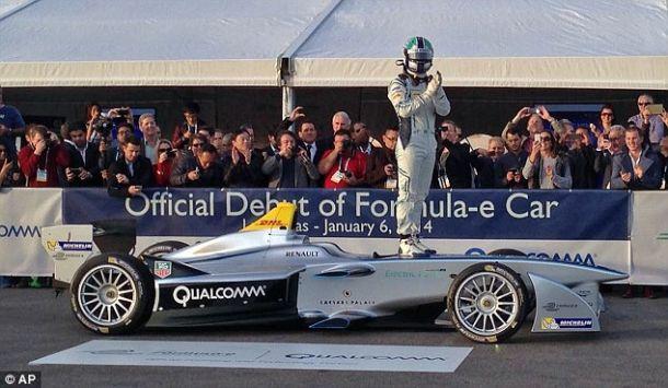 Una monoposto di Formula E
