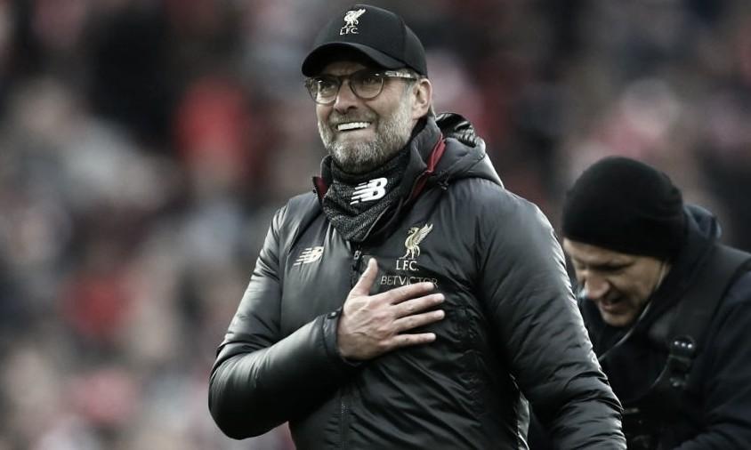 ''Estava com muita saudade'', admite Jürgen Klopp sobre retorno do futebol na Inglaterra