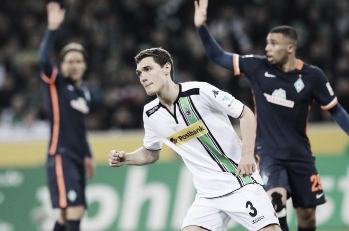 """""""Manita"""" del Gladbach ante un Bremen calamitoso en defensa"""