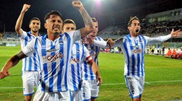 Pescara - Perugia 2-1: gli abruzzesi vincono e convincono