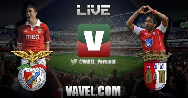 Benfica vs Braga en vivo y en directo online
