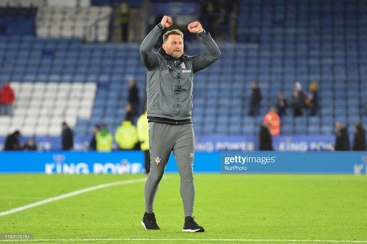 It's not the first time Hasenhuttl has endured a horrid spell, Southampton have to back him