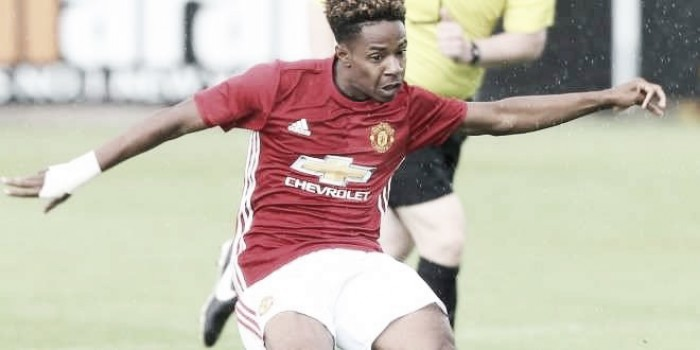 Manchester City u18 2-0 Manchester United u18: Blues triumph over ten-man Reds at youth level