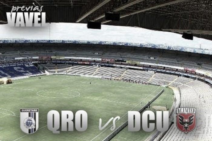 Previa Querétaro - DC United: un paso más para la internacionalización emplumada