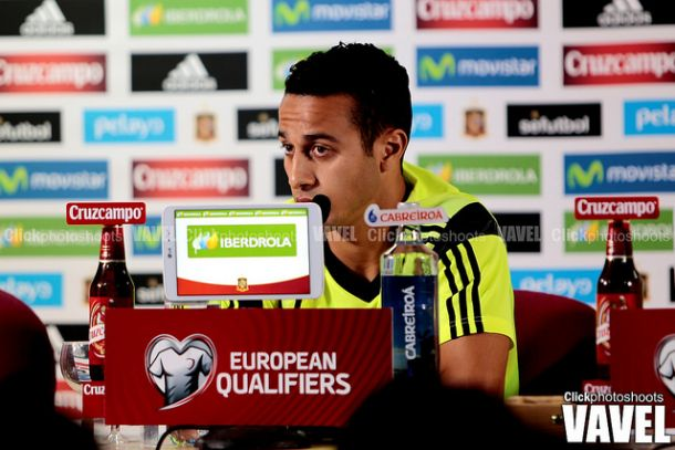 """Thiago: """"Tenía muchas ganas de volver con la selección"""""""