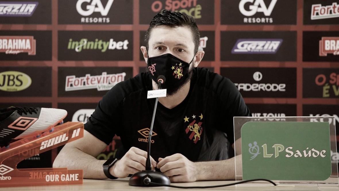 Capitão do Sport, Sander fala sobre a influência da pandemia no futebol