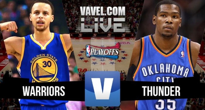 Resultado Golden State Warriors x Oklahoma City Thunder pela Final do Oeste da NBA (102-108)