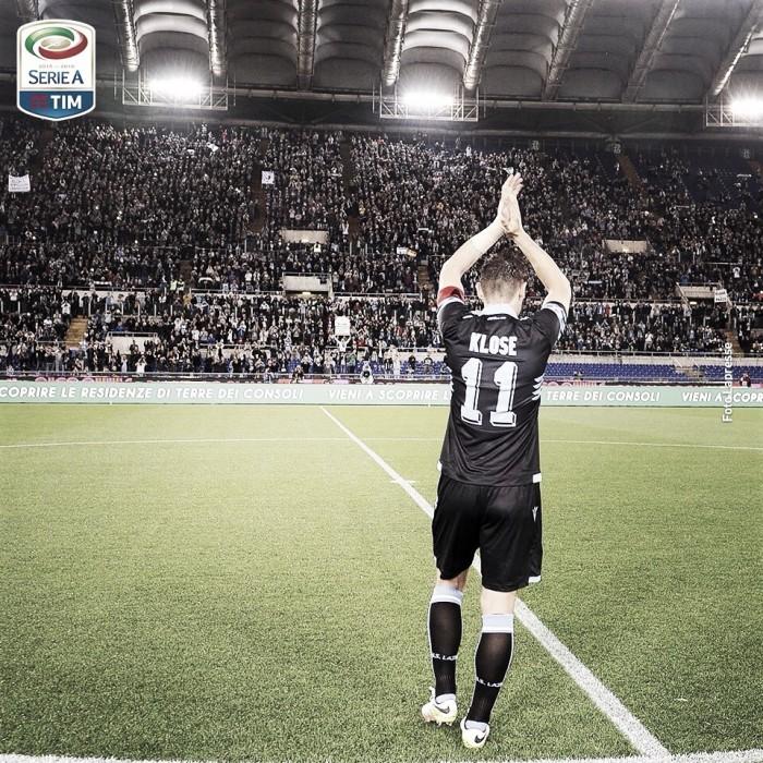 Lazio y Fiorentina despiden a la temporada y a Miroslav Klose con seis goles