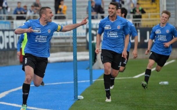 Serie B, il Novara non si ferma più: 4-1 al Perugia