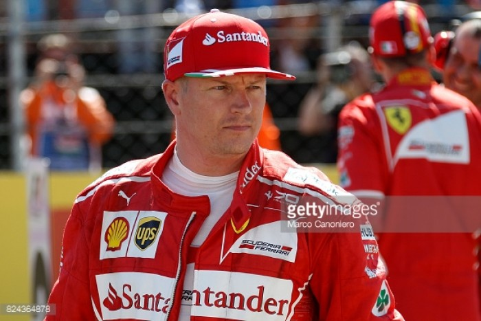 Ferrari retain Kimi Raikkonen for 2018 Formula 1 season