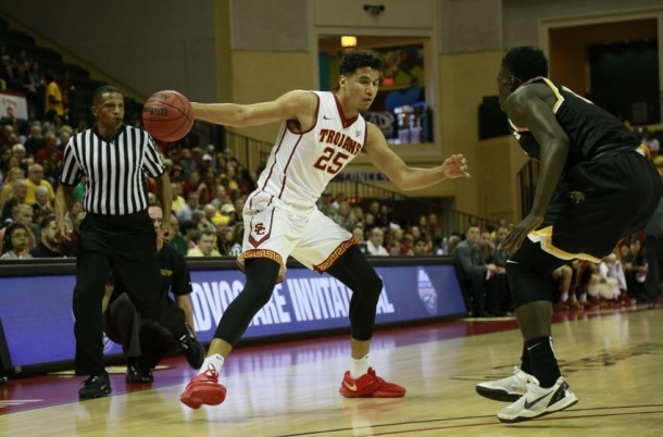 "USC Fights Off No. 20 Wichita State Behind 22 From ""Fab Freshman"" Bennie Boatwright"