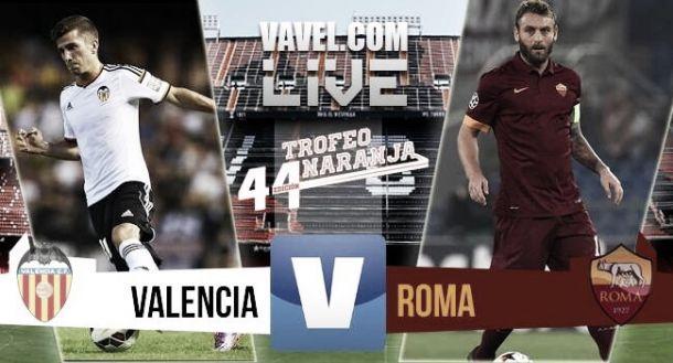 Resultado Valencia - Roma en el 44º Trofeo Naranja (1-3)
