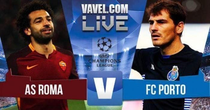 Partido Roma vs Oporto en vivo ahora en Champions League 2016