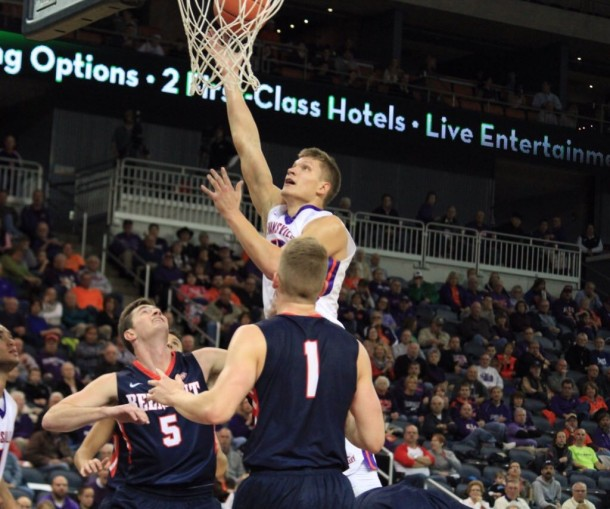 Evansville Purple Aces Down Belmont Bruins Despite Perfect Shooting Day From Evan Bradds