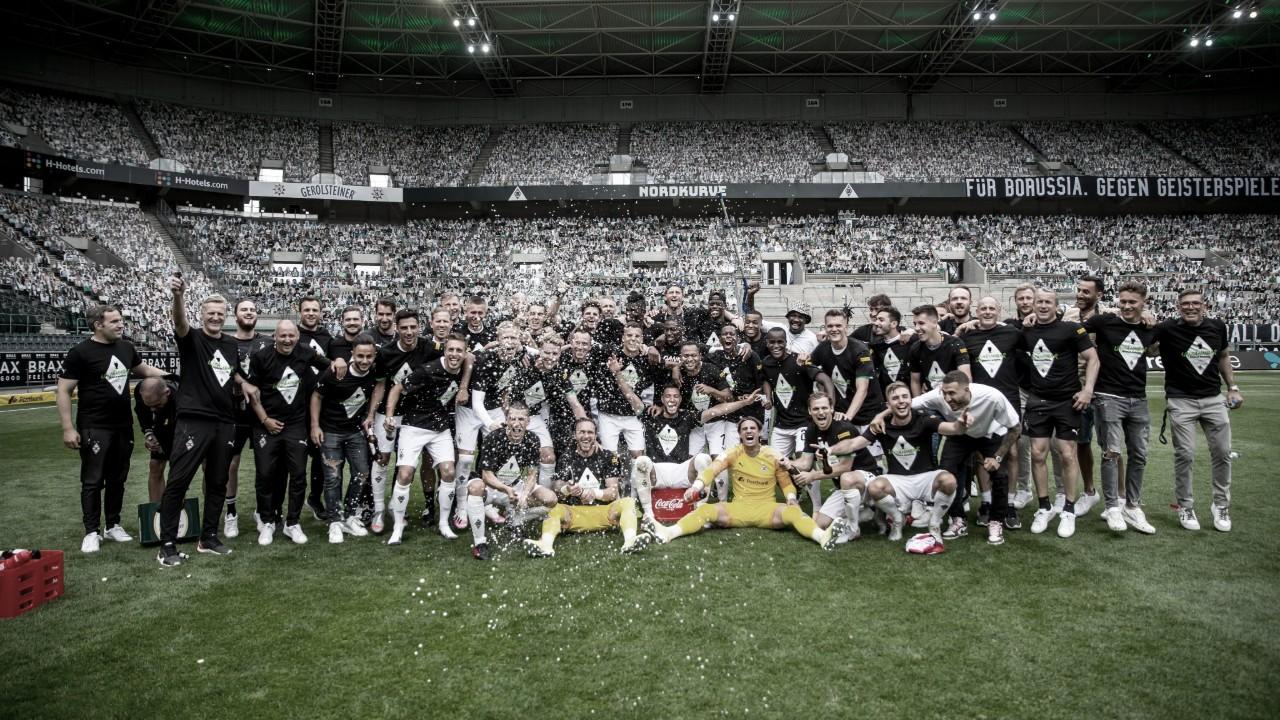Em despedida de Raffael, Mönchengladbach vence Hertha e confirma vaga na Champions League