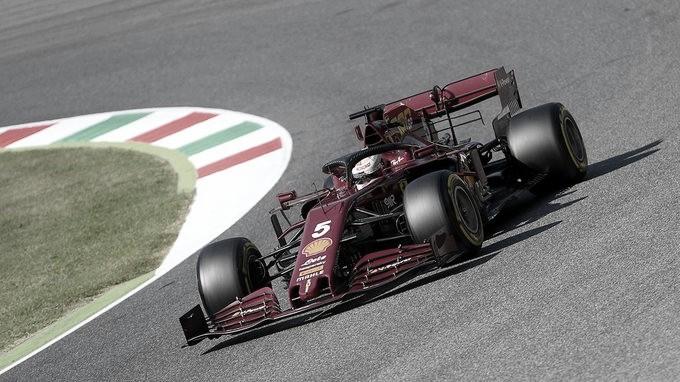 No milésimo GP em Fórmula 1, Ferrari vai mal em Mugello e decepciona