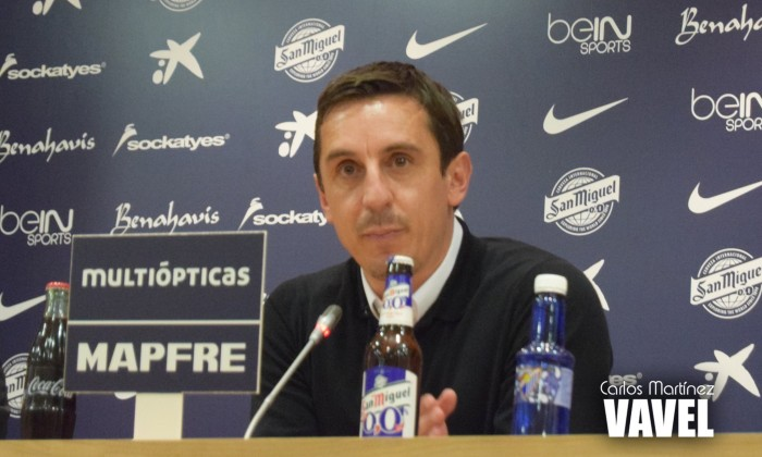 """Neville: """"La victoria de hoy no ha sido por buen juego, ha sido una victoria de oficio"""""""