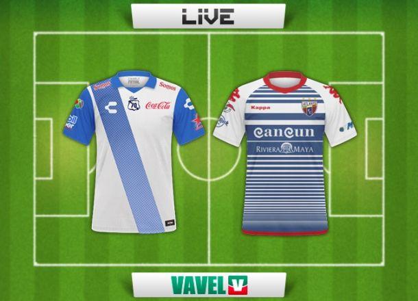 Resultado Puebla - Atlante en la Copa MX 2015 (2-0)