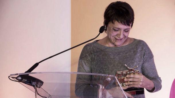 Blanca Portillo, premiada por su aportación a la ficción televisiva