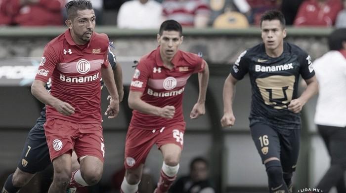 Toluca FC - Pumas: puntuaciones Toluca jornada 13 Liga MX
