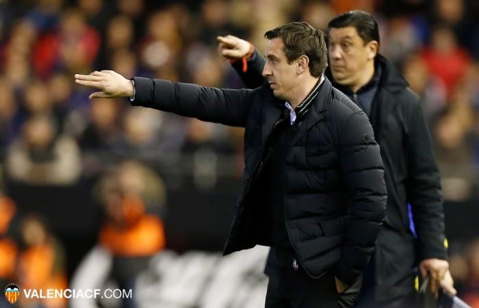 """Neville: """"La decisión de meter a Negredo ha sido una decisión del cuerpo técnico"""""""
