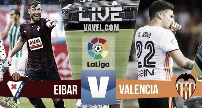 El Valencia sucumbe ante un rocoso Eibar