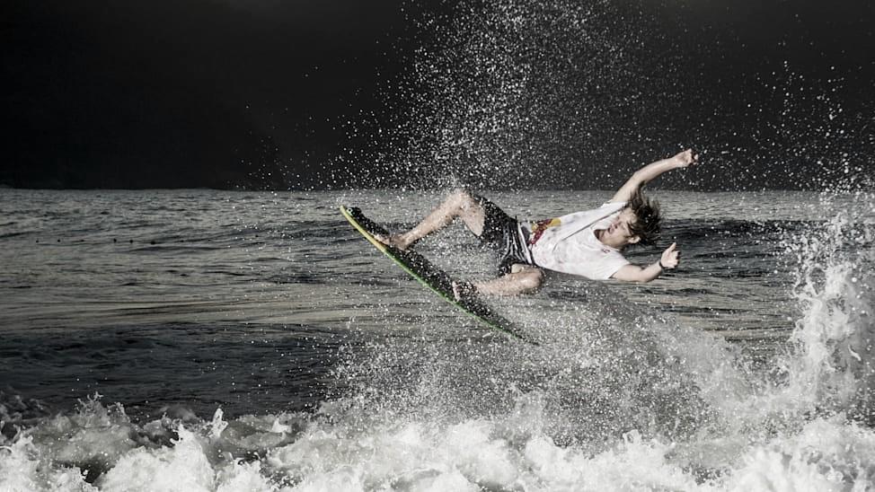 Lucas Fink quer viver de skimboard e 'nunca trabalhar num escritório'