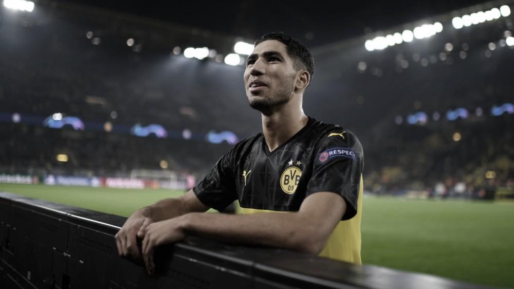 Achraf Hakimi se despede do Borussia Dortmund e falta pouco para assinar com Inter de Milão
