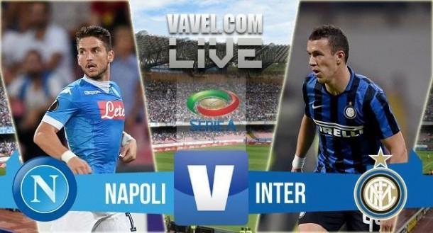 Resultado Nápoles vs Inter (2-1): el Nápoles se coloca líder