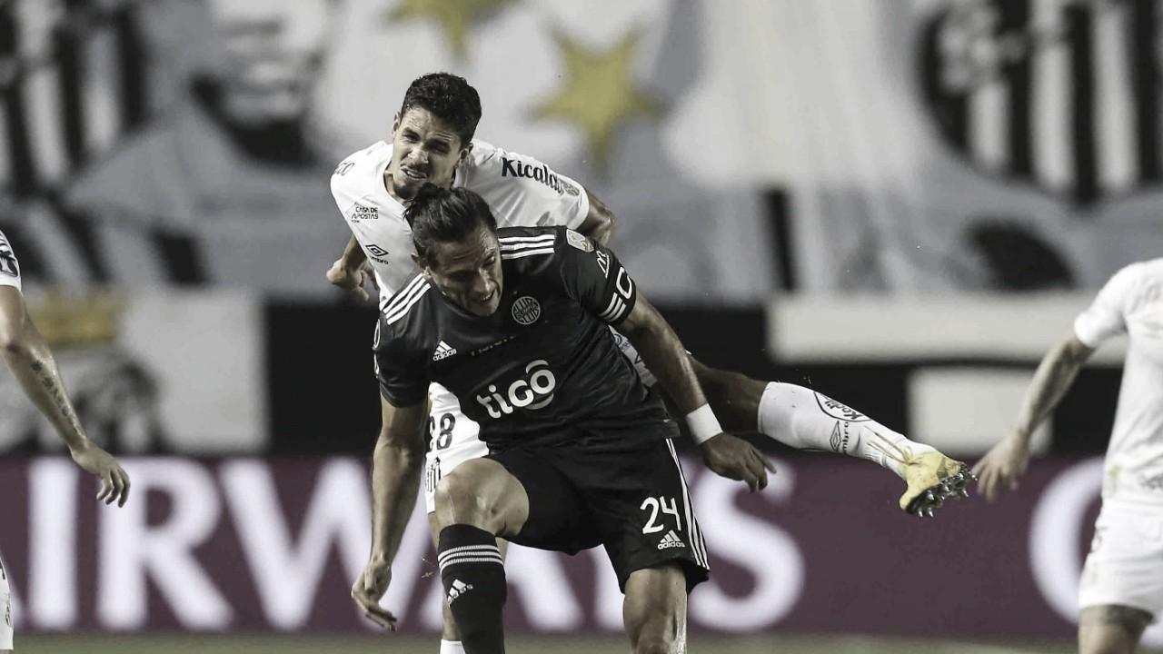 Sem inspiração, Santos empata com Olimpia na Vila Belmiro pela Libertadores