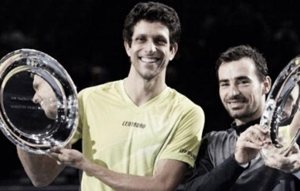 Com título do Masters 1000 de Paris, Marcelo Melo encerrará 2015 como número um do mundo
