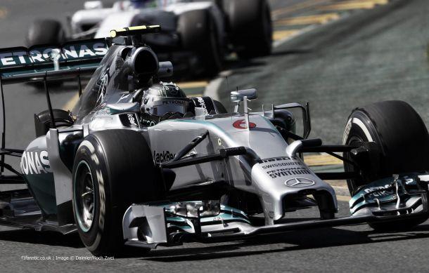 F1 Brasile, Rosberg davanti nelle prime libere