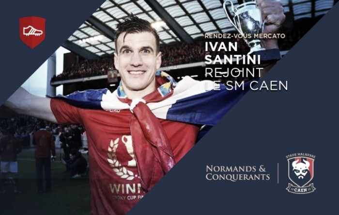 Caen contrata atacante croata Ivan Santini por três temporadas