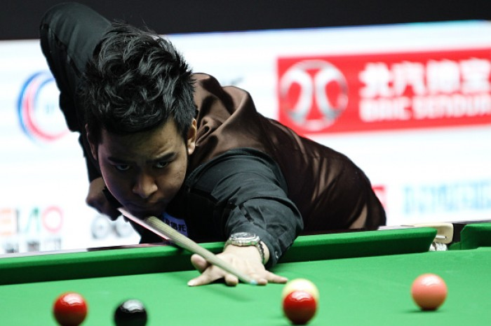 China Open: No problem for Noppon as he nudges along