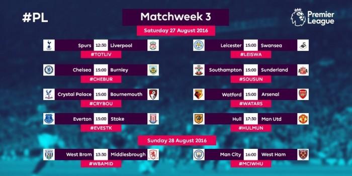 Premier League, la presentazione della seconda giornata: turni favorevoli per United e Chelsea, insidia West Ham per il City